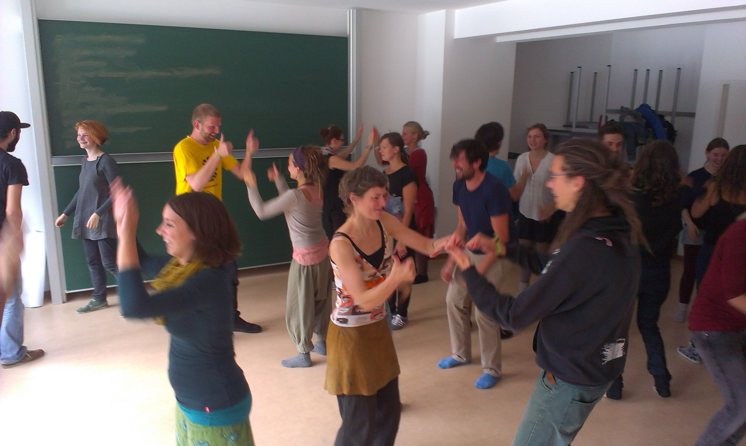 """degrowth theaterworkshop: """"how to resist the cultural voices of growth and acceleration within us?"""""""